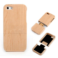 Bamboo Case For iPhone 4 4S 5 5S Natural Wood Style Case For Samsung Galaxy