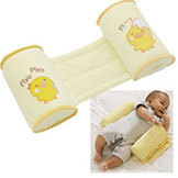 Cute Baby Toddler Safe Cotton Anti Roll Pillow Cartoon Sleep Head Positioner Anti-Rollover Worldwide