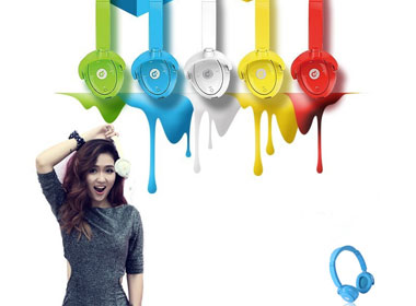 Wireless Bluetooth Headset w/ Microphone for Samsung Galaxy Note 3 iPhone 5S