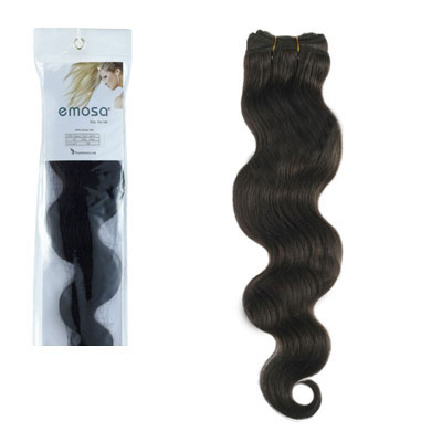 Brazilian Wavy Human Hair Extensions Black