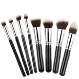 Professional Makeup Brush Set w/ Synthetic Hair