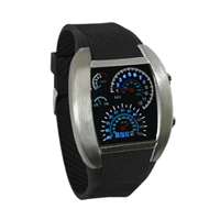 Men RPM Turbo Aviator LED Watch