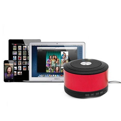 Bluetooth Speaker w/ Microphone Support TF Card & MP3 Player