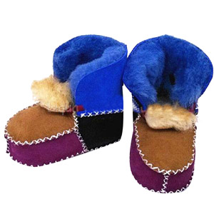 Baby Fur Wool Snow Boots
