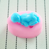 3D Baby-Shape Food-Grade Silicone Mold for Cake Fondant & DIY Soap