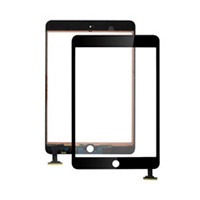 Black and Withe Touch Screen without for iPad Mini