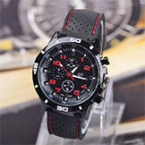 2014 Brand Quartz Men's Sports Watch Men's Casual Watches F1 Gt Watch Silicone Band Clock Hours