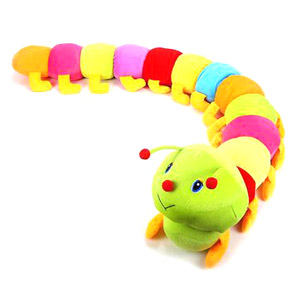 Baby Colorful Caterpillars Plush Toy